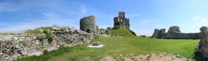 Corfe Castle Ward Panorama